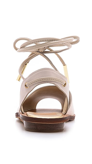 Dolce Vita Damalis Ankle Wrap Sandals