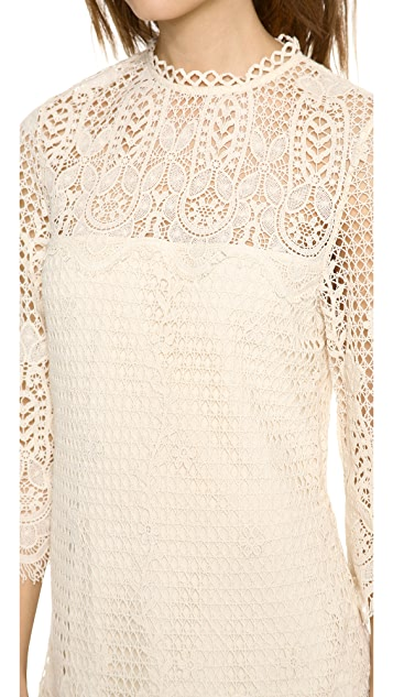 Dolce Vita Mikella Crochet Mini Dress