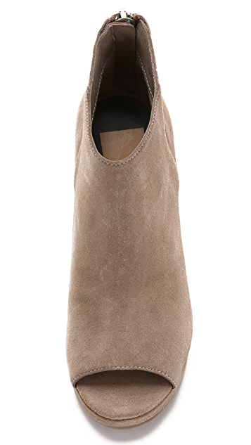 Dolce Vita Demy Suede Wedge Booties