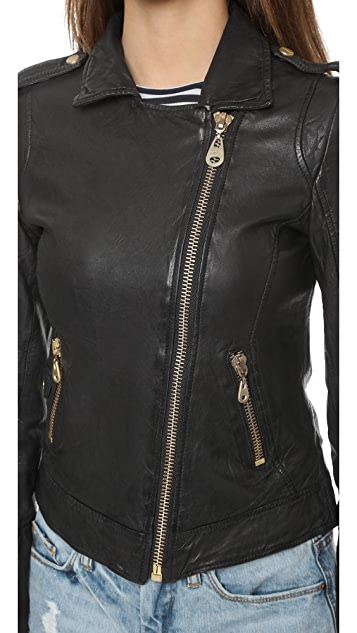 Doma Байкерская куртка на молнии