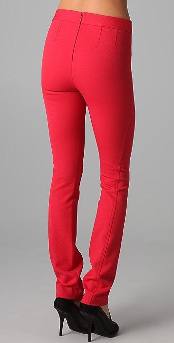 Donna Karan Casual Luxe Back Zip Pants