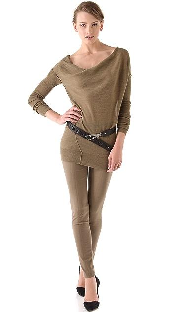 Donna Karan Casual Luxe Single Hook Belt