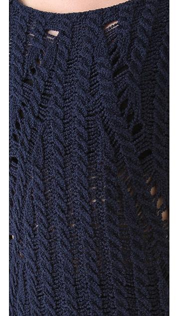 Donna Karan Casual Luxe Long Sleeve Top
