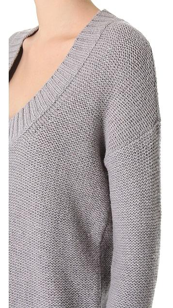 Donna Karan Casual Luxe Alpaca Sweater