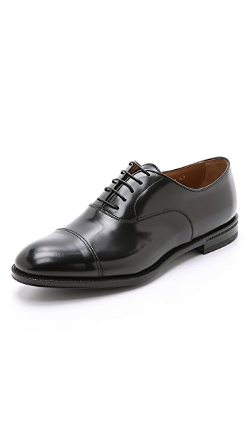 Doucal's Roma Cap Toe Oxford Shoes