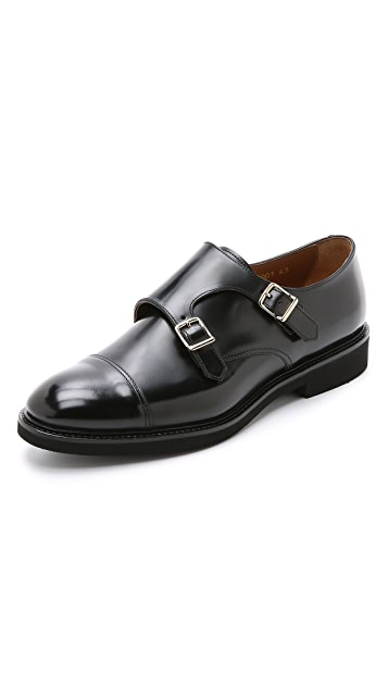 Doucal's Verona Double Monkstrap Shoes