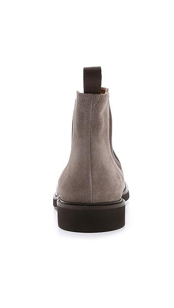 Doucal's Genova Suede Chelsea Boots