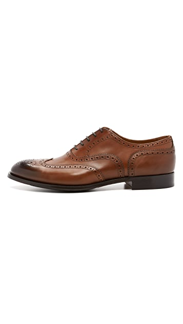 Doucal's Bruno Wing Tip Oxfords