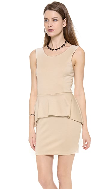 dRA Messina Peplum Dress