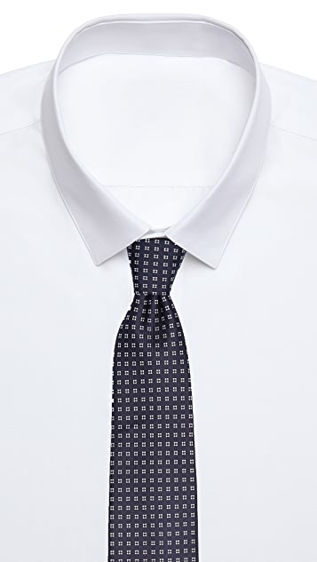 Drake's Floral Print Tie