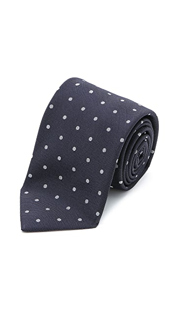 Drake's Dotted Tie