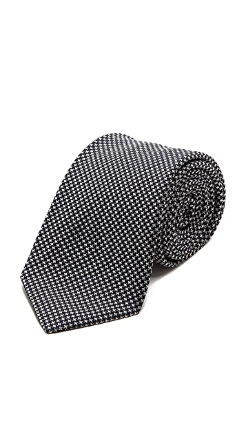 Drake's Houndstooth Tie