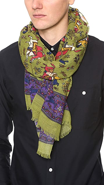 Drake's Antique Moghul Scarf