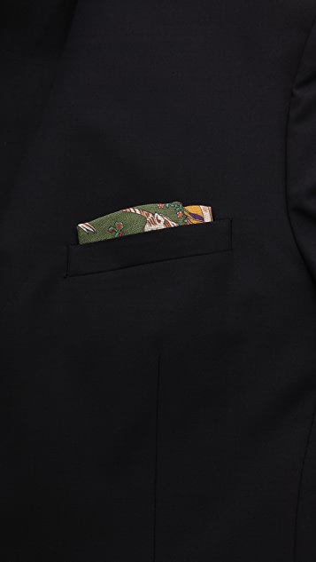 Drake's Unicorn Pocket Square