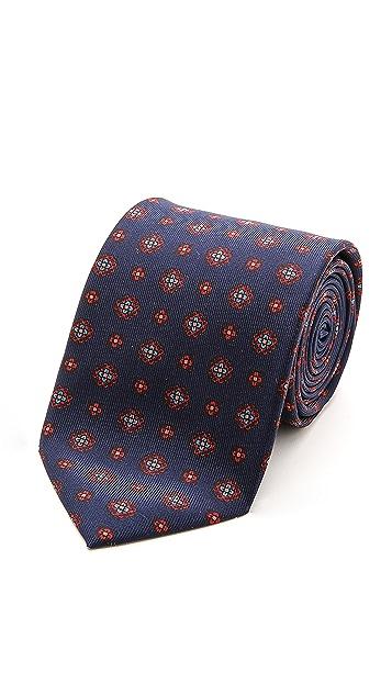 Drake's Silk Self Tip Necktie