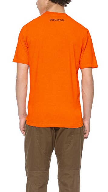 DSQUARED2 Hand Me Down Dyed Tee