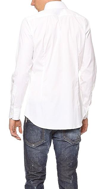 DSQUARED2 Stretch Dress Shirt