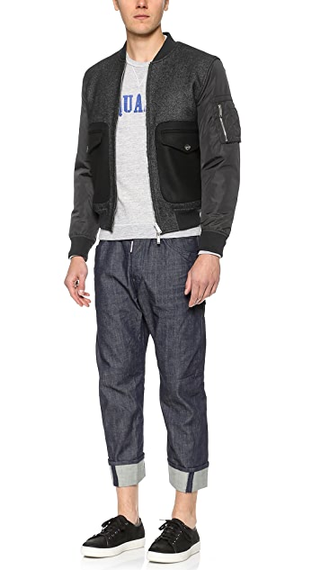 DSQUARED2 Criminal Bomber Jacket