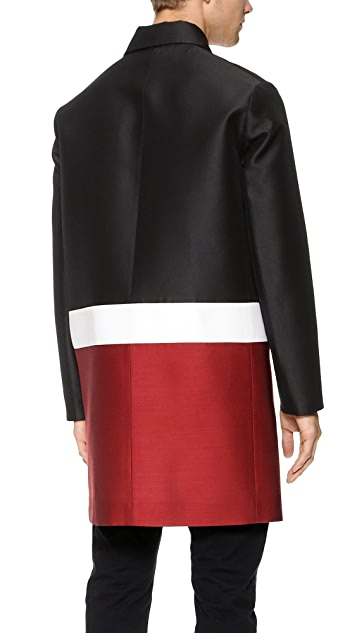 DSQUARED2 Colorblock Swing Coat