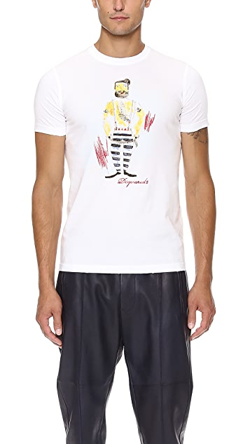 DSQUARED2 Prisoner T-Shirt