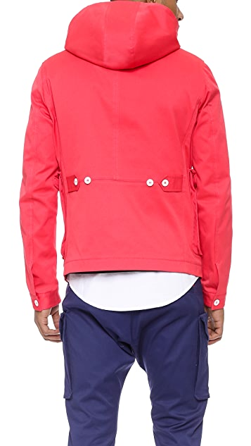 DSQUARED2 Twill Hooded Jacket