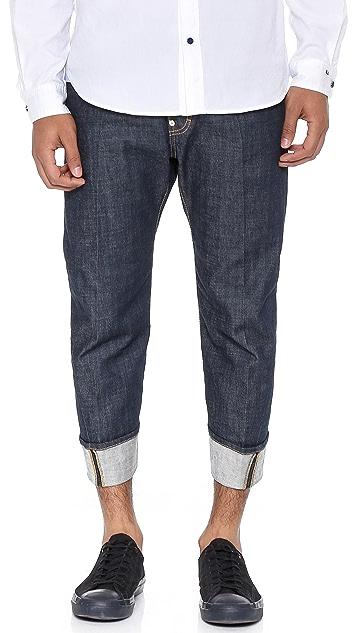 DSQUARED2 Dark Wash Workwear Jeans
