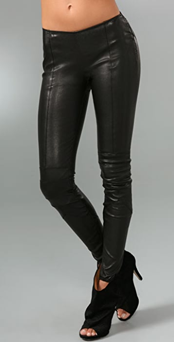 DSQUARED2 Leather Leggings