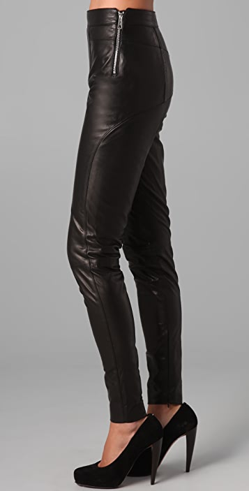 DSQUARED2 Selina Leather Pants