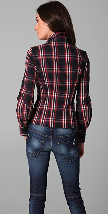 DSQUARED2 Rodeo Bustier Shirt