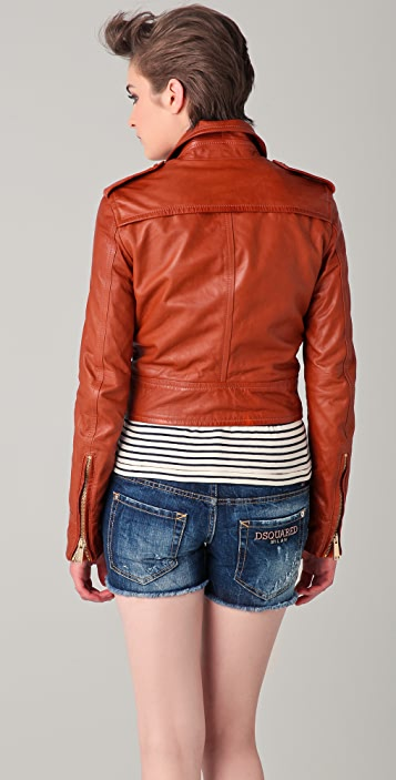 DSQUARED2 Linda Leather Jacket