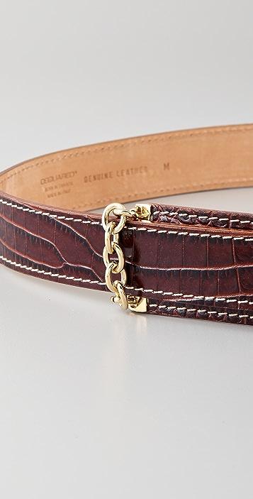 DSQUARED2 Croco Chain Waist Belt