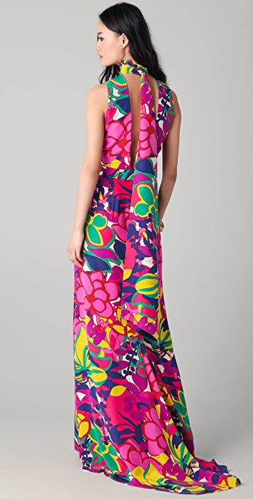 DSQUARED2 Keyhole Maxi Dress