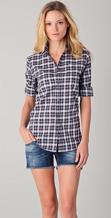 DSQUARED2 Plaid Button Down Shirt