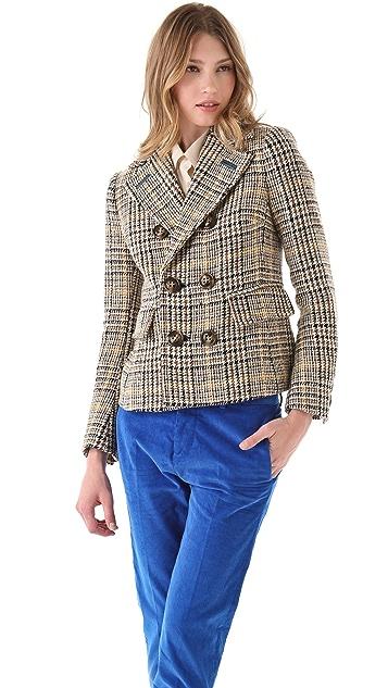DSQUARED2 Kateingale Pea Coat