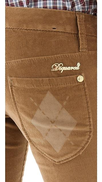 DSQUARED2 Super Slim Corduroy Pants