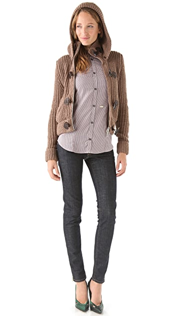 DSQUARED2 Toggle Sweater Coat