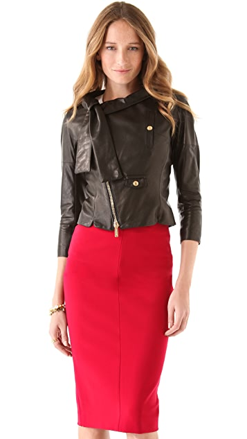 DSQUARED2 Miss Harper Leather Jacket
