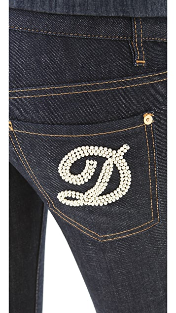 DSQUARED2 Pearl D Super Slim Jeans