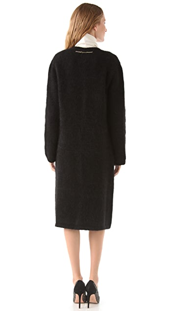 DSQUARED2 Mohair Sweater Coat