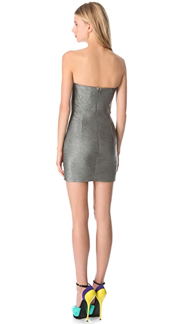 DSQUARED2 Strapless Mini Dress