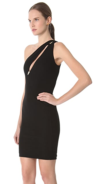 DSQUARED2 One Shoulder Mini Dress
