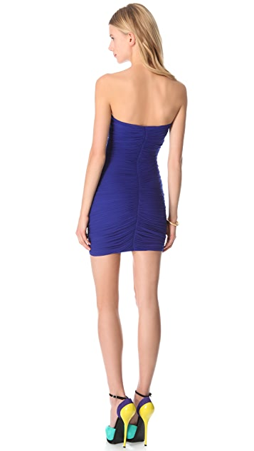 DSQUARED2 Ruched Tube Dress