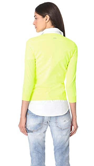 DSQUARED2 Fluorescent V Sweater
