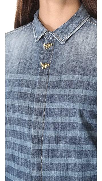 DSQUARED2 Sailorette Denim Shirt