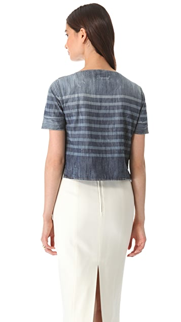 DSQUARED2 Sailorette Boxy Top