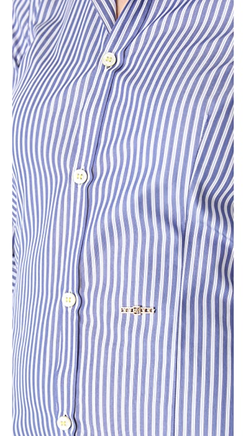 DSQUARED2 Poplin Button Down Shirt
