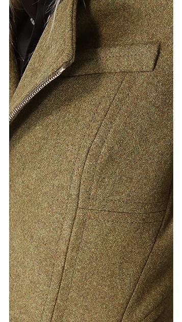 DSQUARED2 Wool Coat