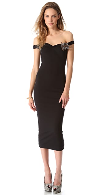 DSQUARED2 Broach Front Dress