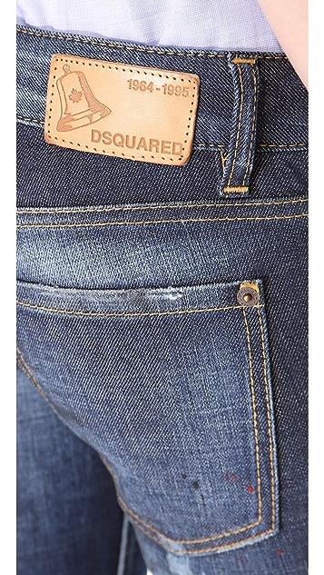 DSQUARED2 Pat Slim Jeans