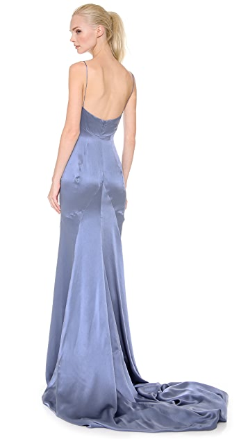 DSQUARED2 Carmen Silk Lady Gown